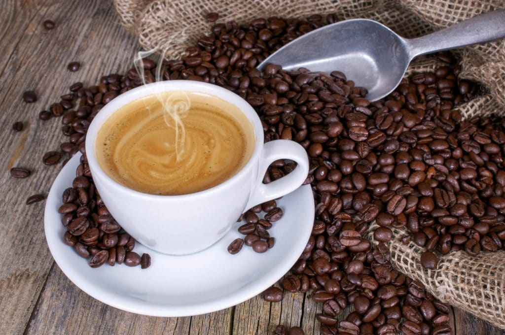 Coffee loaded with essential nutrients