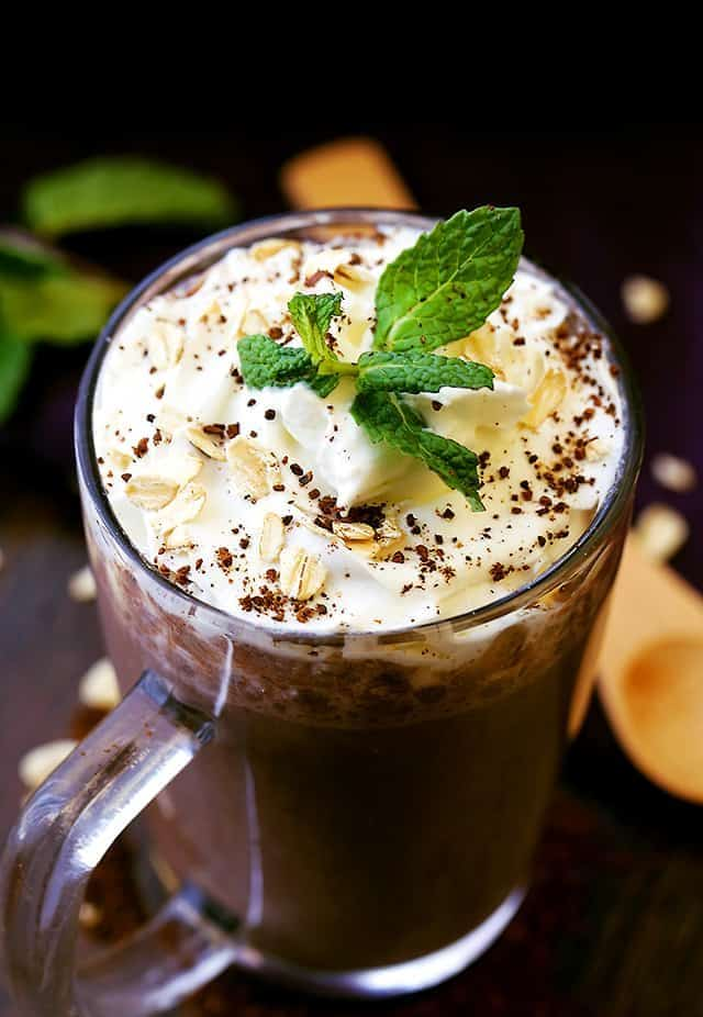 Flax Seed Coffee Shake
